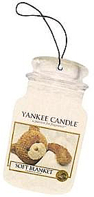 Ароматизатор - Yankee Candle Soft Blanket Car Jar Ultimate — фото N1