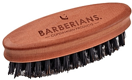Духи, Парфюмерия, косметика Щетка для бороды, овальная - Barberians. Beard Brush Oval