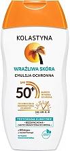 Духи, Парфюмерия, косметика Защитная эмульсия для чувствительной кожи - Kolastyna Sensitive Skin SPF50