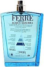 Духи, Парфюмерия, косметика Gianfranco Ferre Acqua Azzurra - Туалетная вода (тестер без крышечки)