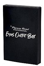Духи, Парфюмерия, косметика Набор для макияжа глаз - Pierre Rene Outfit Eyes Box (mascara/15ml + liner/2.5ml + pencil/0.35g)