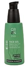 Духи, Парфюмерия, косметика Гель для лица - GRN Essential Elements Aloe Vera & Hemp Face Gel