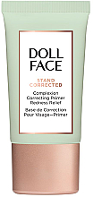 Духи, Парфюмерия, косметика Корректирующий праймер для лица с покраснениями - Doll Face Stand Corrected Complexion Equalizer Primer