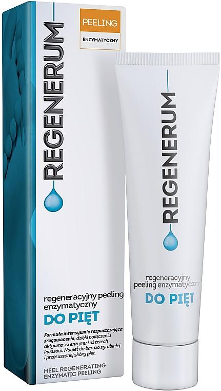 Восстанавливающий энзимный пилинг для пяток - Aflofarm Regenerum — фото N1