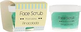 Духи, Парфюмерия, косметика Увлажняющий скраб для лица и губ - Nacomi Moisturizing Face&Lip Scrub Pinacolada