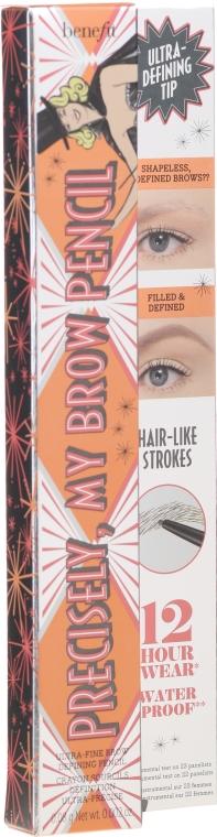 Набор - Benefit Twice As Precise Precisely My Brow Travel Set (brow/pencil/2x0.08g) (03 -Warm Light Brown) — фото N3