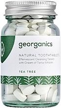 """Духи, Парфюмерия, косметика Таблетки для очищения зубов """"Чайное дерево"""" - Georganics Natural Toothtablets Tea Tree"""