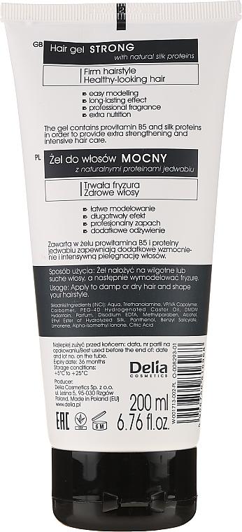 Гель для волос сильной фиксации - Delia Cosmetics Cameleo Hair Gel Strong — фото N2