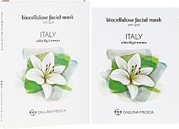 "Духи, Парфюмерия, косметика Тканевая маска ""Италия"" - Calluna Medica Italy Anti-Spot Biocellulose Facial Mask"