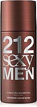 Духи, Парфюмерия, косметика Carolina Herrera 212 Sexy Men - Дезодорант