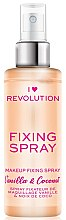 Духи, Парфюмерия, косметика Спрей фиксирующий макияж - I Heart Revolution Fixing Spray Vanilla & Coconut