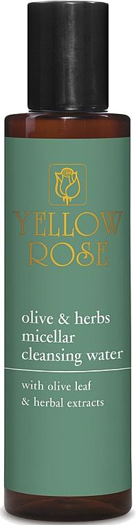 Мицеллярная вода с растительными экстрактами - Yellow Rose Olive & Herbs Micellar Cleansing Water — фото N1