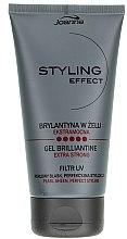 Духи, Парфюмерия, косметика Брильянтин в геле для волос - Joanna Styling Effect Gel Brilliantine