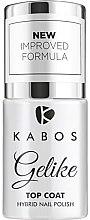 Духи, Парфюмерия, косметика Гибридный закрепитель для гель-лака - Kabos Gelike Top Coat Hybrid Nail Polish