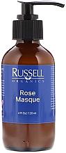 Духи, Парфюмерия, косметика Крем-маска для зрелой, чувствительной и сухой кожи - Russell Organics Rose Mask