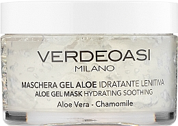 Духи, Парфюмерия, косметика Гелевая маска с алоэ, увлажняющая, успокаивающая - Verdeoasi Aloe Gel Mask Hydrating Soothing