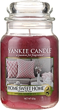 """Духи, Парфюмерия, косметика Ароматическая свеча """"Дом милый дом"""" - Yankee Candle Home Sweet Home"""