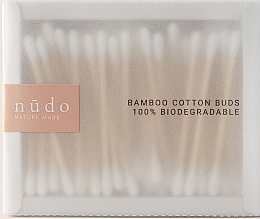 Духи, Парфюмерия, косметика Бамбуковые ватные палочки - Nudo Nature Made Bamboo Cotton Buds
