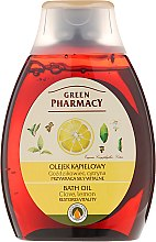 """Духи, Парфюмерия, косметика Масло для принятия ванн и душа """"Гвоздика и Лимон"""" - Green Pharmacy"""