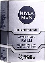 """Духи, Парфюмерия, косметика Бальзам после бритья антибактериальный """"Серебряная защита"""" - Nivea For Men Silver Protect After Shave Balm"""