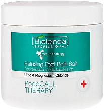 Духи, Парфюмерия, косметика Соль для кожи ног - Bielenda PodoCall Therapy Relaxing Foot Bath Salt