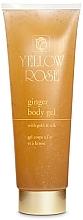 Духи, Парфюмерия, косметика Имбирный гель для тела - Yellow Rose Ginger Body Gel With Gold And Silk