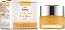 Духи, Парфюмерия, косметика Ночная маская для губ с витамином Е и маслом облепихи - Petitfee&Koelf Oil Blossom Lip Mask
