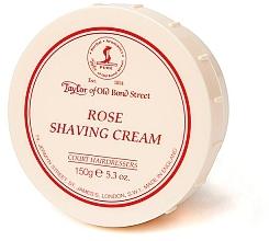 """Духи, Парфюмерия, косметика Крем для бритья """"Роза"""" - Taylor of Old Bond Street Rose Shaving Cream Bowl"""
