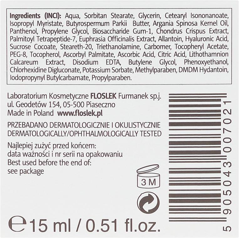 Крем против морщин для глаз с гиалуроновой кислотой - Floslek — фото N3