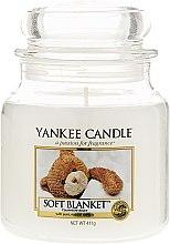Духи, Парфюмерия, косметика Свеча в стеклянной банке - Yankee Candle Soft Blanket