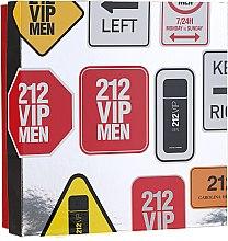 Духи, Парфюмерия, косметика Carolina Herrera 212 VIP Men - Набор (edt/100 ml + sh/gel/100 ml)
