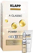 """Духи, Парфюмерия, косметика Набор """"Витамин А"""" - Klapp A Classic Power Set (conc/3x2ml + cr/3ml)"""