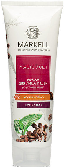 "Маска для лица ""Ультра лифтинг"" - Markell Cosmetics Magic Duet — фото N2"