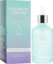 Духи, Парфюмерия, косметика Увлажняющая сыворотка с гиалуроновой кислотой - FarmStay Hyaluronic Acid 100 Ampoule