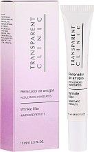 Духи, Парфюмерия, косметика Филлер против морщин для кожи вокруг глаз - Transparent Clinic Wrinkle Filler