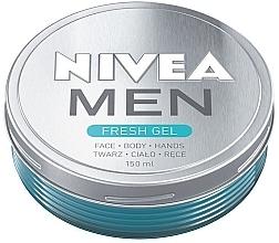 Духи, Парфюмерия, косметика Увлажняющий крем-гель для лица и тела - Nivea Men Fresh Gel