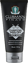 Духи, Парфюмерия, косметика Очищающая черная маска для лица - Clubman Pinaud Charcoal Peel-Off Face Mask