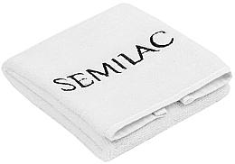 Духи, Парфюмерия, косметика Полотенце для маникюра, белое, 30х50 см - Semilac