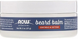Духи, Парфюмерия, косметика Бальзам для бороды - Now Foods Controls & Softens Beard Balm