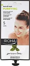 Духи, Парфюмерия, косметика Маска для лица - Iroha Nature Green Tea Purifying Peel-Off Mask
