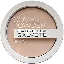 Духи, Парфюмерия, косметика Пудра для лица - Gabriella Salvete Cover Powder SPF15