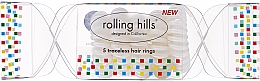 Духи, Парфюмерия, косметика Резинка для волос, прозрачный - Rolling Hills 5 Traceless Hair Rings Cracker