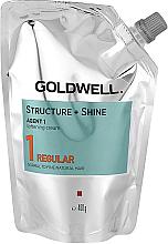 Духи, Парфюмерия, косметика Смягчающий крем для натуральных неокрашенных волос - Goldwell Structure + Shine Agent 1 Regular 1