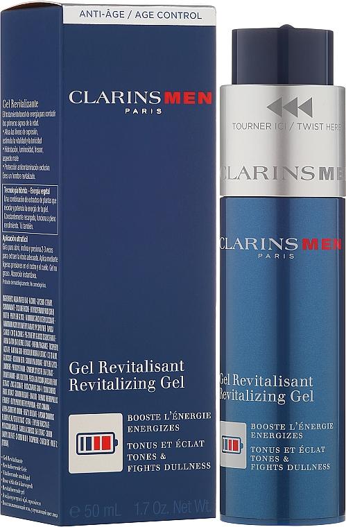 Восстанавливающий и питающий гель для лица - Clarins Men Revitalizing Gel — фото N1
