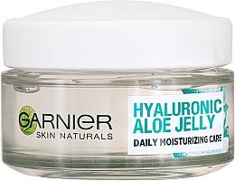 Духи, Парфюмерия, косметика Увлажняющий крем с гелевой текстурой - Garnier Skin Naturals Hyaluronic Aloe Jelly Cream