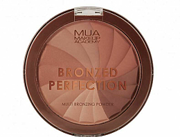Духи, Парфюмерия, косметика Бронзирующая пудра - MUA Bronzed Perfection Multi Bronzing Powder