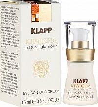 Духи, Парфюмерия, косметика Крем-флюид для кожи вокруг глаз - Klapp Kiwicha Eye Contour Cream