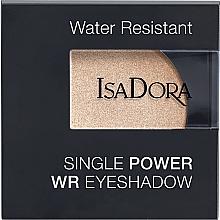 Духи, Парфюмерия, косметика Тени для век - IsaDora Single Power WR Eyeshadow