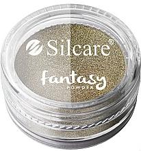 Духи, Парфюмерия, косметика Пудра для ногтей - Silcare Fantasy Chrome Powder