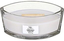 Духи, Парфюмерия, косметика Ароматическая свеча в стакане - Woodwick Hearthwick Flame Ellipse Candle Smoked Jasmine
